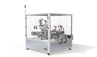 Top of Carton, Diagonal Sealing Automatic Labeller